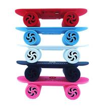 Mini Caixa De Som Skate Bluetooth Speaker Sd Usb Portatil