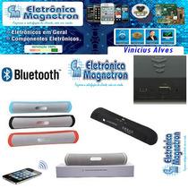 Caixa Som Portátil Bluetooth Android E I.o.s Usb Mp3 Sd.