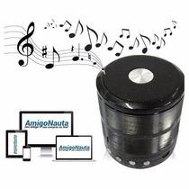 Caixa Som Portatil Bluetooth 5w Iphone Ipad Sd Usb Radio Fm