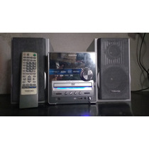 Micro System Toshiba Mc 753 Com Dvd E Mp3