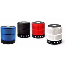 Caixa Som Speaker 5w Bluetooth Iphone Ipad Fm Usb Portátil