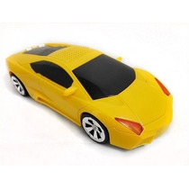 Carro Som Mp3 Lamborghini Sd Caixinha Caixa Pen Drive Fm Led
