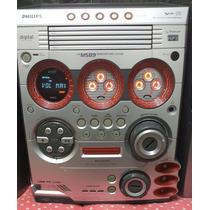 Micro-system Philips Fw-m589 Zerado Falta Apenas Manutenção