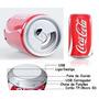 Caixa De Som Latinha De Refrigerante + Carregador Usb Gratis
