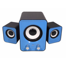 Caixa Som 2.1 Subwoofer 11w Rms P2 Pc Notebook Ipod Mp3 Alta