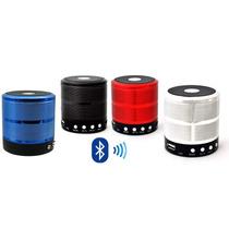 Caixa De Som Speaker Bluetooth Usb Sd Card Função Telefone