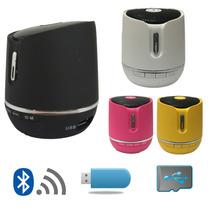Caixa De Som Pequena Bluetooth Sem Fio Mini Sd Card Usb