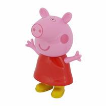 Mini Caixa Caixinha Som Portátil Peppa Pig Mp3 Fm Sd Usb