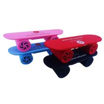 Mini Caixa De Som Portatil Skate Bluetooth Speaker Sd Usb