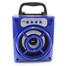 Caixa De Som Amplificada Bluetooth Usd Fm Sd Recarregável