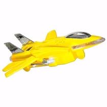 Caixa De Som Avião Jato Amarelo Ss Portatil Usb Radio Fm Car