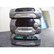 Som Mini System Panasonic Sa-ak27 Com Defeito