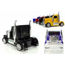 Caminhao Caixa De Som Caixinha Portatil Cabine Truck Usb Fm