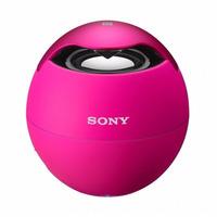 Nova Caixa De Som Wireless Speaker System Srs-btv5 Rosa