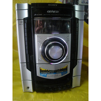 Micro System Sony Mhc-gnx-800 C/ 4 Cxs. Sony - Impecaveis Ok