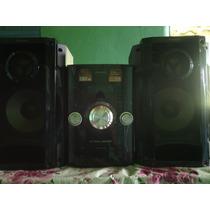 Mini System Aparelho Som Panasonic Sa-akx32 Completo 380w