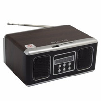 Radio Caixa Mobile Speaker Com Entrada Usb Sd Fm