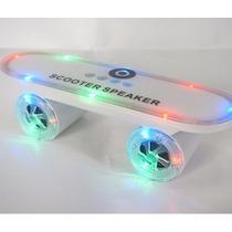 Mini Caixa De Som Skate Bluetooth Speaker Usb Recarregavel