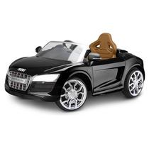 Mini Audi Elétrico Infantil Preto - Jessica Brinquedos