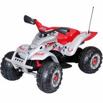 Quadriciclo Eletrico Corral T-rex Prata Peg-pérego