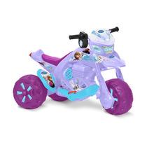 Moto Elétrica Zx Frozen Disney Original El 6v - Bandeirante