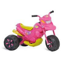 Moto Eletrica 12v Infantil Fashion Rosa Novo