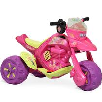 Moto Eletrica Tinker Bell Disney Infantil Menina Bandeirante