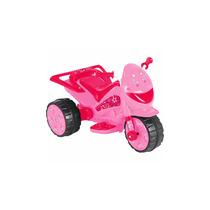 Moto Elétrica Infantil Pink Star 6v- 2,5 Km/h - Brink