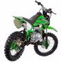 Mini Moto Trilha Cross 50cc Protork Verde Minimoto Tr 50cc