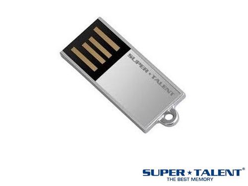 Mini Pen Drive Pico C Silve Super Talent 8gb Usb C/ Corrente