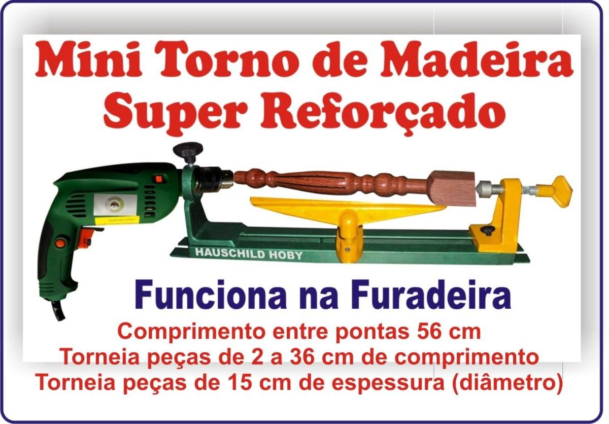 Mini Torno De Madeira Para Artesanato R$ 250 00 no MercadoLivre #C29A09 1200x835