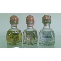 Miniatura De Tequila Patrón De 50ml - Kit Com 3 Garrafinhas