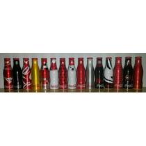 Mini Garrafinhas Coca Cola 2015 - Coleção Completa