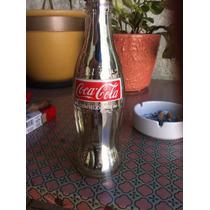 Garrafa Coca-cola (cromada)