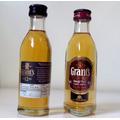 Miniatura De Whisky Grants 12 Anos 50ml Importado!
