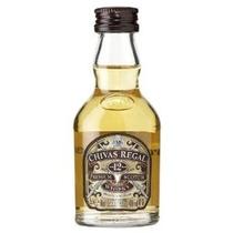 Miniatura Whisky Chivas Regal 12 Anos 50ml - Original. Vidro