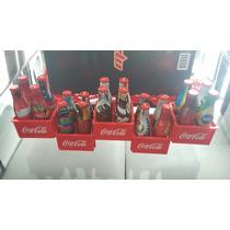 Coleção Completa De Garrafinhas Da Coca Cola Copa 2014