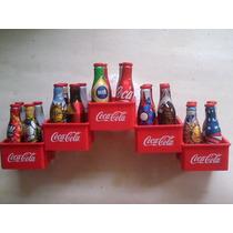 Coleção Completa Mini Garrafas Coca Cola Copa 2014