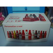 Minigarrafinhas Coca Cola 2015 - Coleção Completa+engradados