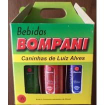 Kit 1 Com 6 Miniatura Cachaça 50 Ml. Bebidas De Luiz Alves