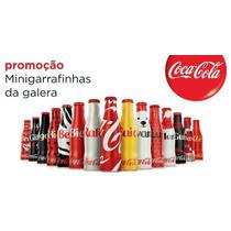 Mini Garrafinhas Coca Cola Da Galera! Coleção Completa!