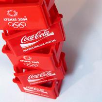 Engradado Garrafinhas Coca-cola Olimpíada De Atenas 2004