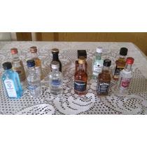 Promoção - Kit Com 12 Miniaturas Bebidas Variadas Originais