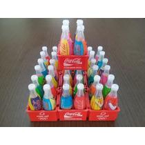 Lote Com 10 Engradados De Mini Garrafinhas Da Coca Cola