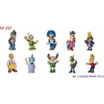 Kinder Ovo - Coleção Completa - Pinoquio (zaini)
