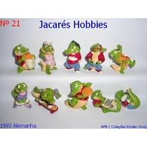 Kinder Ovo - Coleção Completa - Jacarés Hobbies