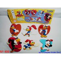 Kinder Ovo - Coleção Completa - Pica Pau Magneto (tomy)