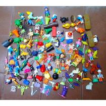 Lote Peças Miniaturas Bonecos Kinder Ovo Diversos