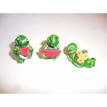 3 Miniaturas Tartarugas Ferrero Kinde 1993 - Antigos