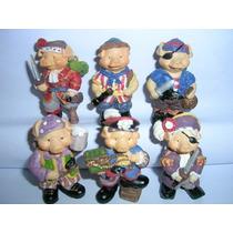 Kinder Ovo - Coleção Completa - Porcos Piratas